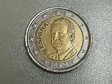 2 euro - Spagna 2001 - buone condizioni