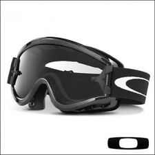 Maschera Occhiali Cross Oakley L-frame MX Matte Black Clear