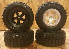 NEW Traxxas 1/10 2wd 4wd Slash Kumho Venture MT Tires 12mm Wheels  SC10