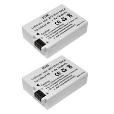 2Pcs 1.8Ah LP-E8 Camera Batteries for Canon 550D 600D 700D T2i T3i T4i T5i DVISI