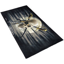 playa toalla de surf toalla de ba/ño secado r/ápido Toalla de microfibra con bandera pirata Jack Rackham para piscina toallas de 31.5 pulgadas x 51.2 pulgadas