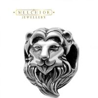 Sterling Silver LION Bead For European Charm Bracelet Jewellery Gift Boxed