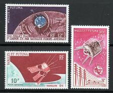 1962-1966 Wallis & Futuna Islands SC C17, C20 & C24 MH Set of 3 Space Air Post*