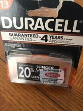 8 Duracell Size 13 Hearing Aid Batteries (with EasyTabs) - Expiration 2019