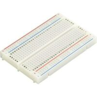 400 Tie Point Solderless Breadboard Prototyping White 85mm x 55mm x 8.5mm