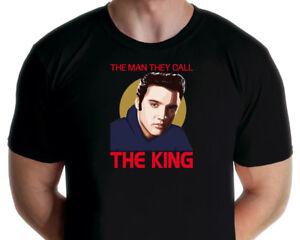 Elvis Presley - The Man They Call The King T-shirt (Jarod Art Design)
