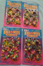 Vintage LISA FRANK Halloween Party Favors Bracelets&Necklaces New Lot Of 4