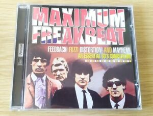 CD Maximum Freakbeat Essential 60s Compilation Past Present The Troggs The Game