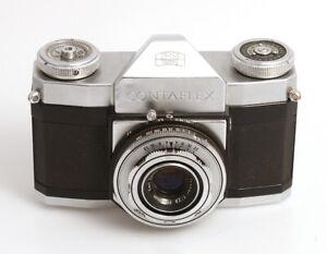 Zeiss Ikon Contaflex I  mit Carl Zeiss Tessar  2,8/45 mm (A68096)