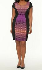 NWTLane Bryant26 3xSheath Dress Sexy Career Church Easter Cap Sleeve Modest
