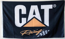 Caterpillar Cat Racing Flag Banner Man Cave 3x5Feet US Shipper