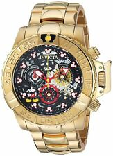 Invicta 24504 Disney Limited Edition Men's 47mm Gold-Tone Chronograph Watch