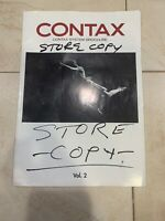 CONTAX SYSTEM - MANUFACTURERS PAMPHLET / PRODUCT BROCHURE