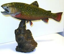 Brook Trout 13 Inch Driftwood Style Statue