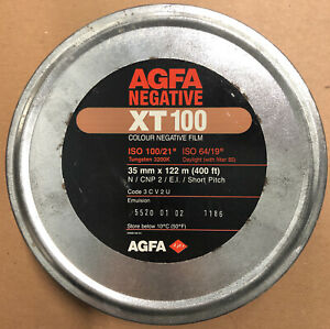 Agfa negative XT 100 400 Feet Bulk Color 35mm