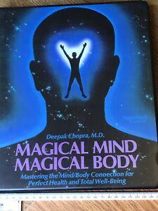 Nightingale Conant Audio Tape Programme Magical Mind Magical Body Deepak Chopra