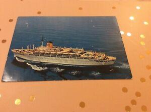 Federico Cruise Ship Postcard