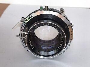 Schneider Kreuznach Xenar 135mm f4.7 Large Format Lens. 5x4in In Compur Shutter.