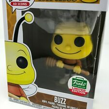 Cheerios Pop Ad Icons - Buzz the Bee #21 Funko Pop! Vinyl (Funko Shop) *Damage*