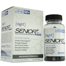 High T Senior+ Testosterone Booster Supplement, 90 Capsules (x2 45ct)