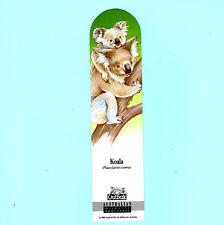 Vintage Bookmarks Koala Australian Wildlife Aussie Souvenir Birthday Xmas Gifts