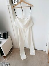 Missguided White Jumpsuit Women's Size US 4 *New Without Tags*