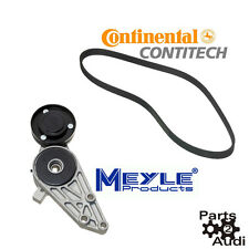 Meyle Belt Tensioner Assembly With CONTI Serpentine Belt Driver Belt Kit Set 2pc