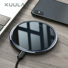 10W Qi Wireless Charger For iPhone X/XS Max XR 8+ Mirror Wireless Charging Pad
