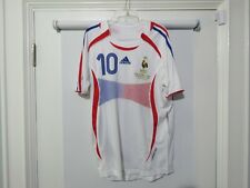 2006 France Zidane World Cup Final Jersey Shirt Retro Remake Xl