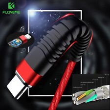 Cable For Samsung S8 S9 USB C Type C Nylon Fast Charging Cable Data Sync Charger