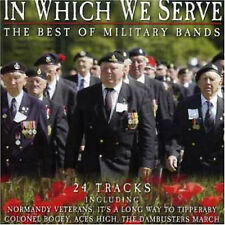 The Best of Military Bands - In Which We Serve - CD - BRAND NEW SEALED (MS)