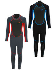 CHILDS FULL LENGTH WET SUIT CHILDRENS KIDS WAIHUI WETSUIT, RED or BLUE