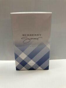 Burberry Summer for Men (2009) 3.4 oz/100 ml Eau de Toilette Spray, Sealed!
