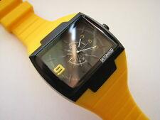 Neue sehr schöne hochwertige DETOMASO Sandro Analog Mode Uhr (gelb)