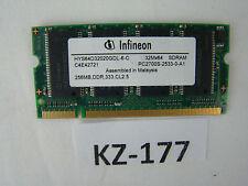 Ram 256mb hys64d32020gdl-6-c Amilo a1630 ordinateur portable 10073247-43934 #kz-177
