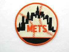 "Vintage New York Mets 2"" Sew On Patch Baseball"
