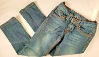 Vigoss Girls Medium Wash Blue Denim Cut-Off//Cuffed-Up//Hemmed Jagger Shorts