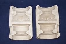 Vtg Ceramic Pottery Slip Casting Mold - 1965 Duncan - Candle Holders - #215