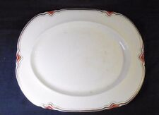 1930s art deco Serving Platter - Woods Ivory  Ware, England
