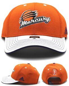 Phoenix Mercury Adidas PHX Suns New Women Ladies Orange White Dri Era Hat Cap