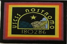 Alien movie USSC Nostromo Morale Patch Tactical Military Flag USA Aliens Sulaco