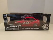 1:18 Jada Fast & Furious Tokyo Drift Sean's Mitsubishi Lancer Evolution 8 Rare