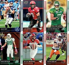 2015 Upper Deck CFL Base Set 1-100