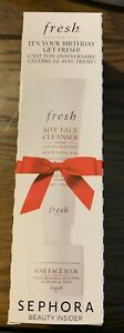FRESH Soy Face Cleanser & Rose Face Mask NEW! NIB!