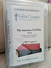 The Great Courses American Civil War Part II Gary Gallagher Audio CDs Audiobook