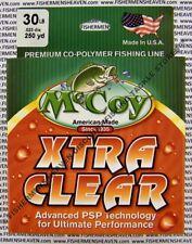 McCoy Fishing Line CoPolymer Xtra Clear 250 Yard Spool 30LB Test