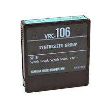 YAMAHA VRC-106 SYNTHESIZER Group ROM Cartridge for DX7 synthesizer