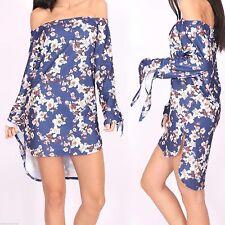 Unbranded Polyester Long Sleeve Sundresses for Women