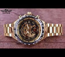 Top Luxury Brand Men's Watch Mechanical Skeleton Watch Winner 2019 Montre Homme