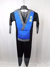 Classic Blue Ninja Boy's Halloween Costume Jumpsuit Child Size 8-10 Medium #5550